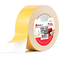 Originele Tapijt Tape 50 mm x 25 m | Heavy Duty Dubbelzijdige Tape voor Tapijten, Matten, Bekleding | Extra Sterk Tapijt…