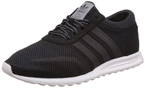 adidas Los Angeles, Baskets Basses Femme, Noir (Core Black/Core Black/FTWR White), 36 EU