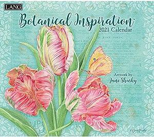 Lang Botanical Inspiration 2021 Wall Calendar (21991001896)