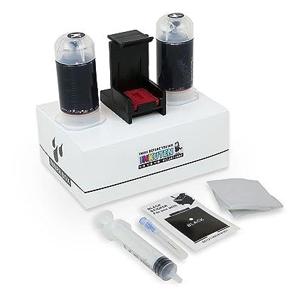 INKUTEN (TM) Recambio Kit Combo Pack para HP 62 62 x l negro ...