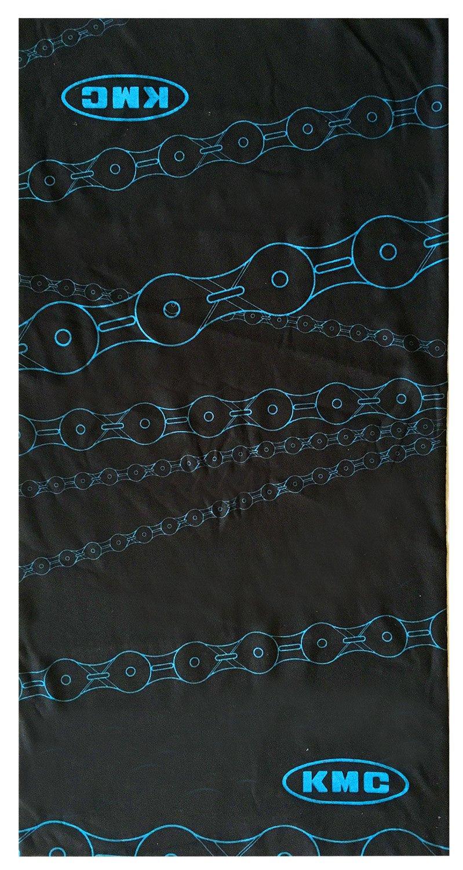 KMC Promo - Pañuelo para el cuello/cabeza unisex, color negro, 24 x 48 cm Messingschlager 715191
