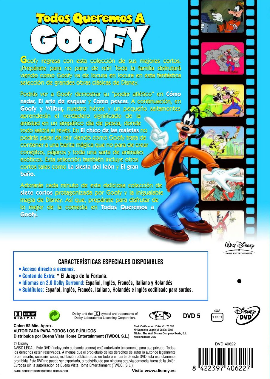 Amazon.com: Todos Queremos A Goofy (Import Movie) (European Format - Zone 2) (2003) Varios: Movies & TV