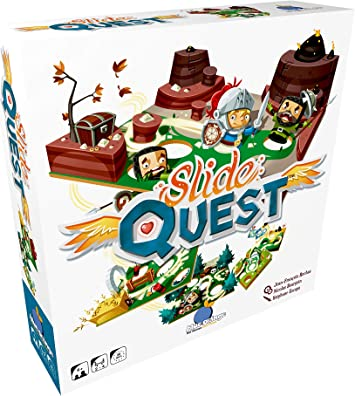 Blue Orange Slide Quest Juego de Guerra Niños y Adultos - Juego de ...