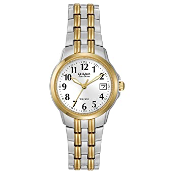 Amazon.com  Citizen Women s Eco-Drive Watch with Date 8f147bd3fe