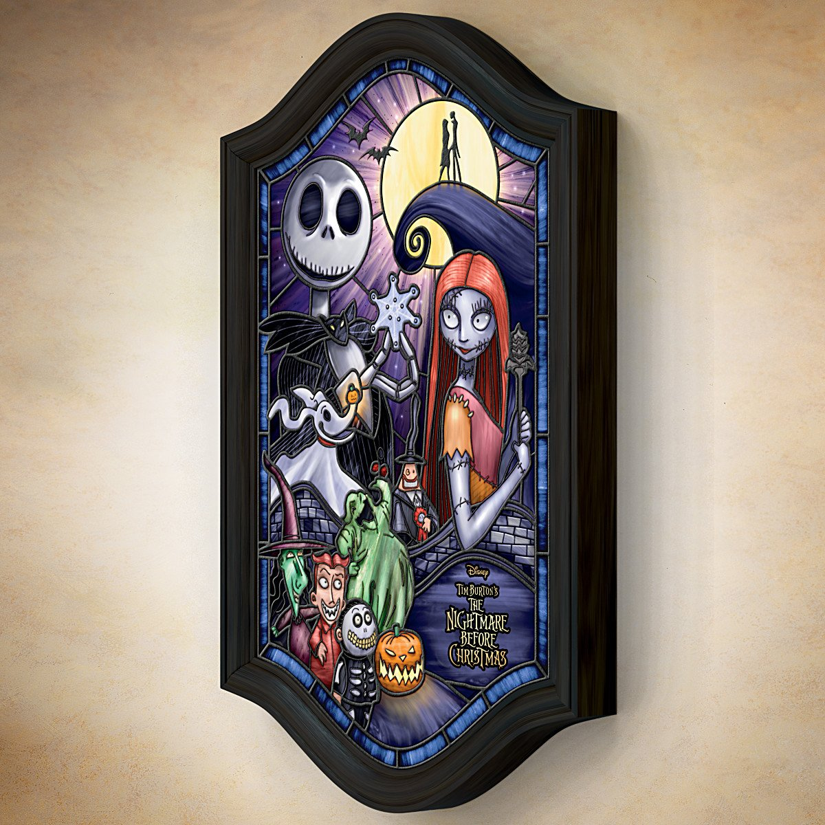 Disney Tim Burton\'s The Nightmare Before Christmas Illuminated ...