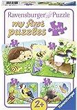 """Ravensburger - 69521 - Puzzle """"My First Puzzles - Habitantes De Jardin Adorables"""" 20 Pièces"""