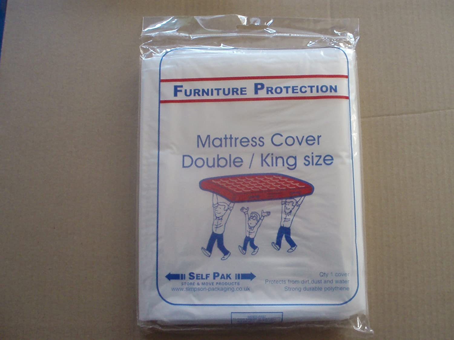 MATTRESS COVER Double King Superking for Moving or