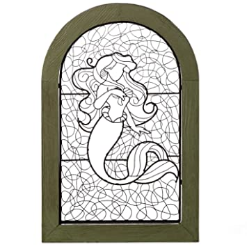 Amazoncom The Little Mermaid Ariel Wire Art In Distressed Frame