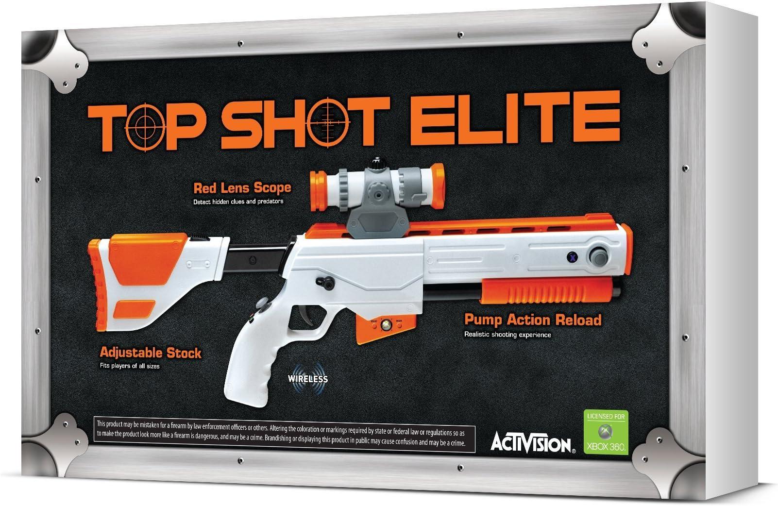 Amazon com: Cabela's Top Shot Elite Firearm Controller - Xbox 360