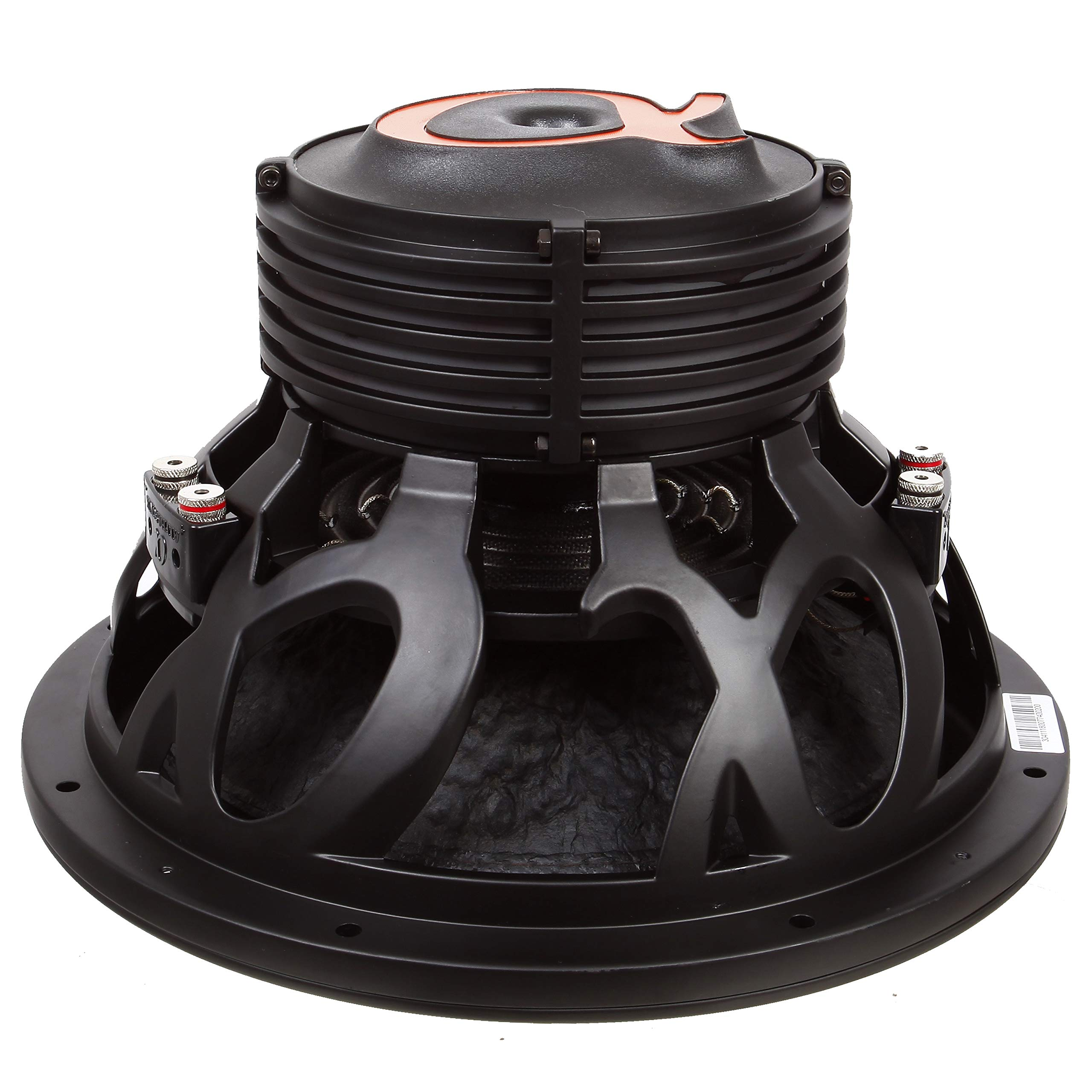 """Alphasonik DSW510 Dynamis 500 Series 10/"""" 2100 Watts Max 700 Watts RMS Dual 4 Ohm Car Subwoofer Die Cast Aluminum Basket w// Double Stacked Magnets Carbon Fiber Cone Cooling Rings System Sub Woofer"""
