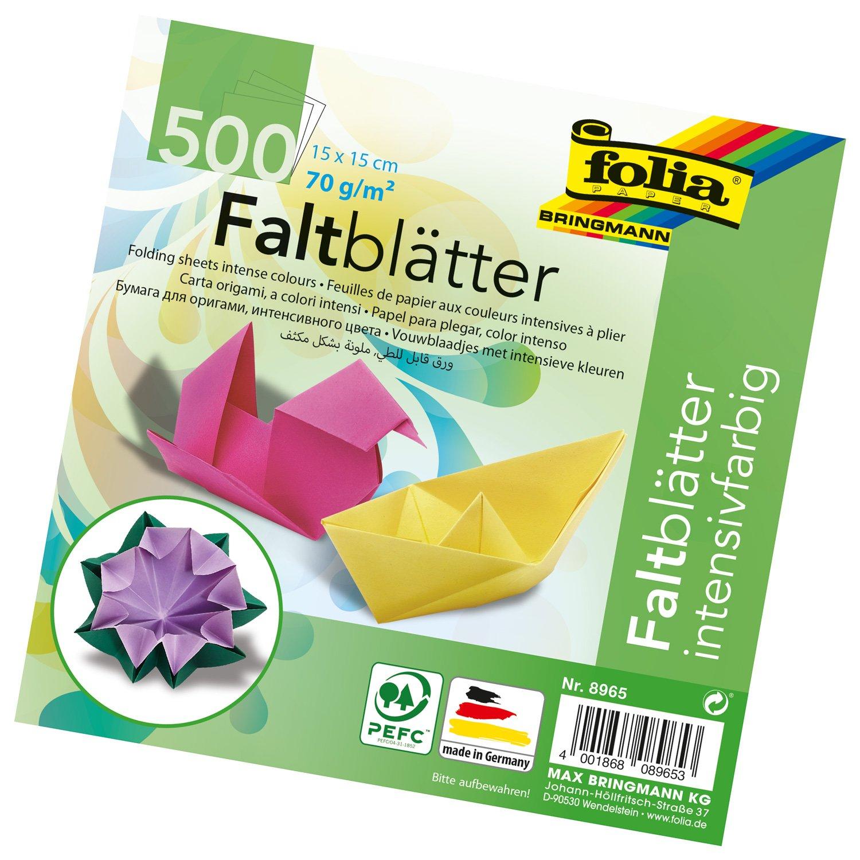 Amazon.com: Global Art Folia 6-Inch by 6-Inch Origami Paper, 10 ...
