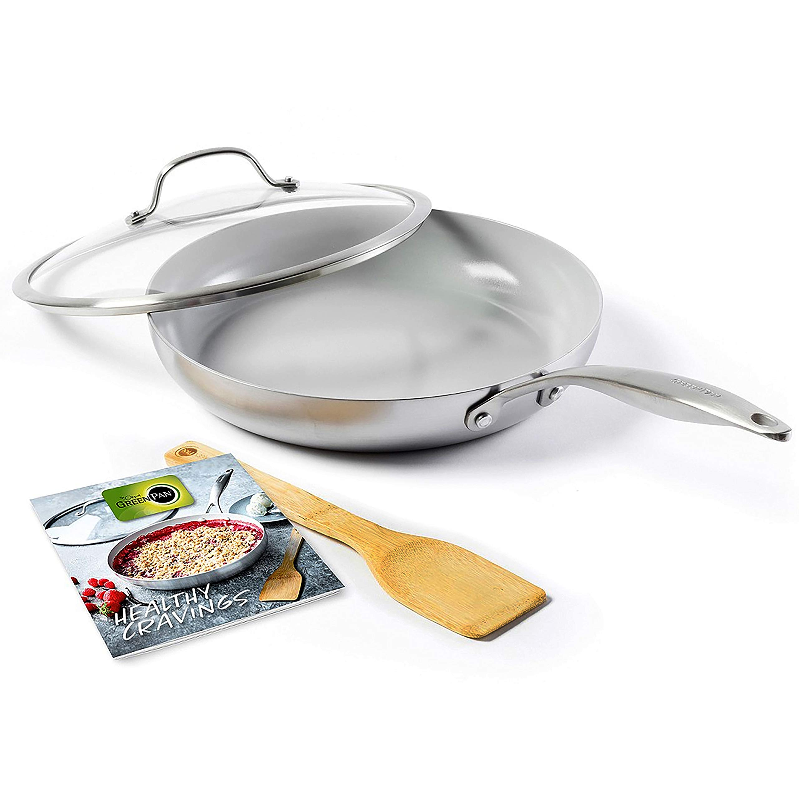 GreenPan CC001874-001 Venice Pro 11in skillet 11'' Grey
