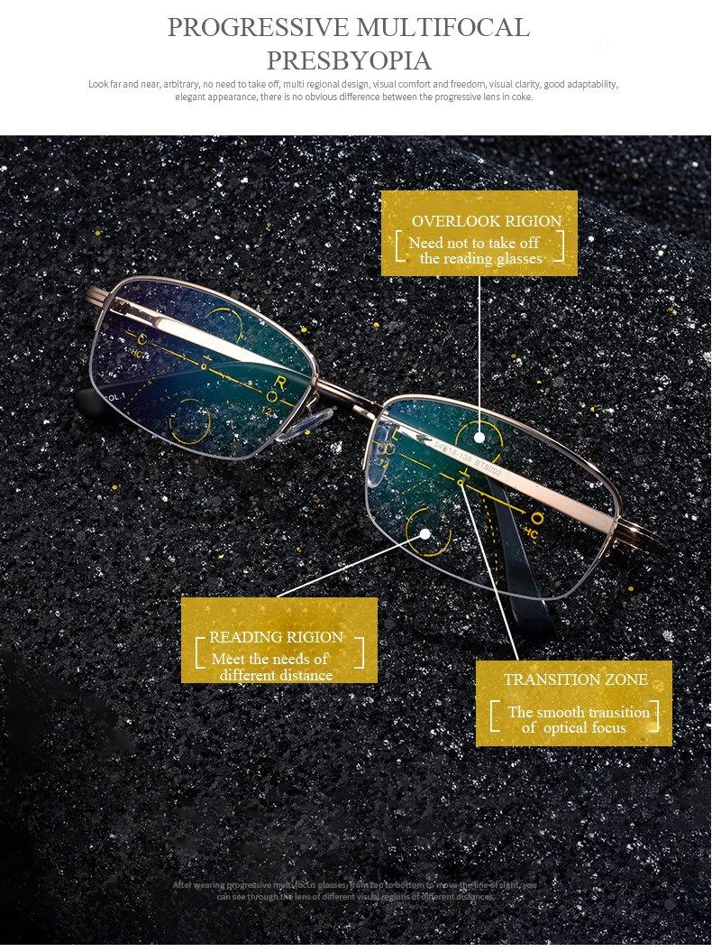 Amazon.com  Winnerbe Intelligent Reading Glasses Progressive Multifocal  Lens Presbyopia Alloy Frame Anti Fatigue (Strength 2.5)  Health   Personal  Care f05b9950ddf3