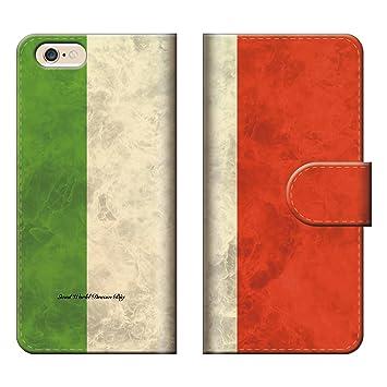 9d1169037b スマートフォンケース スマホケース 【 iPod touch5 アイポッドタッチ5 専用 】 イタリア 国旗 シンプル トリコロール 緑