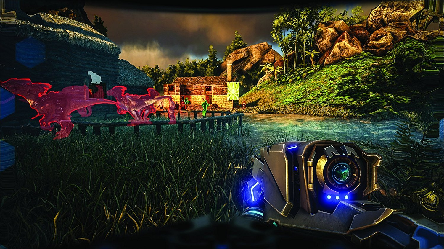 Amazon com: ARK: Survival Evolved (PS4): Video Games
