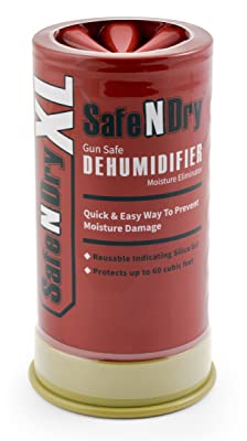 SafeNDry Rechargeable & Reusable Gun Safe Dehumidifier & Moisture Eliminator, X-Large