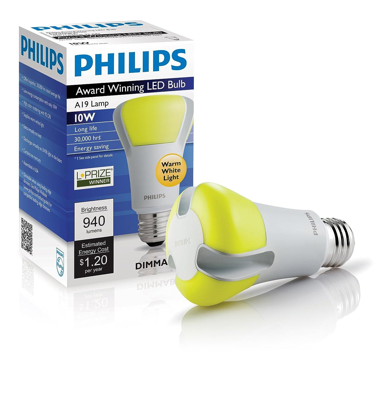 Philips 420224 10 watt l prize award winning 60 watt led light philips 420224 10 watt l prize award winning 60 watt led light bulb led household light bulbs amazon parisarafo Gallery