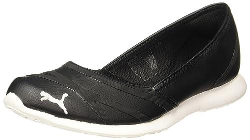 Puma Women s Vega Ballet Sl Black Sneakers-6 UK India (39 EU ... 0fc8c2eae