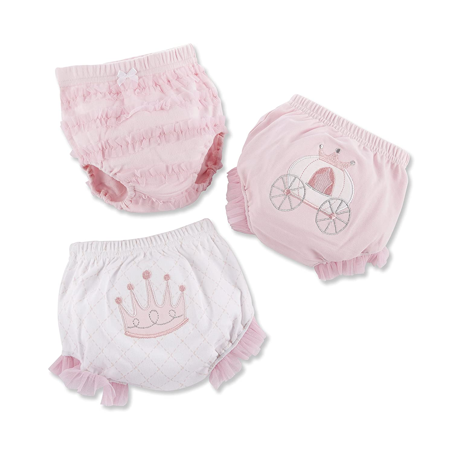 Baby Aspen Her Royal Hineys Set of Three Bloomers