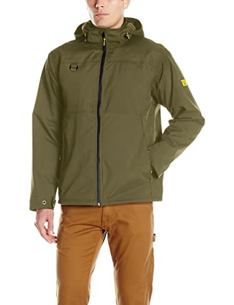 Caterpillar Chinook Waterproof Jacket, Army Moss, Medium