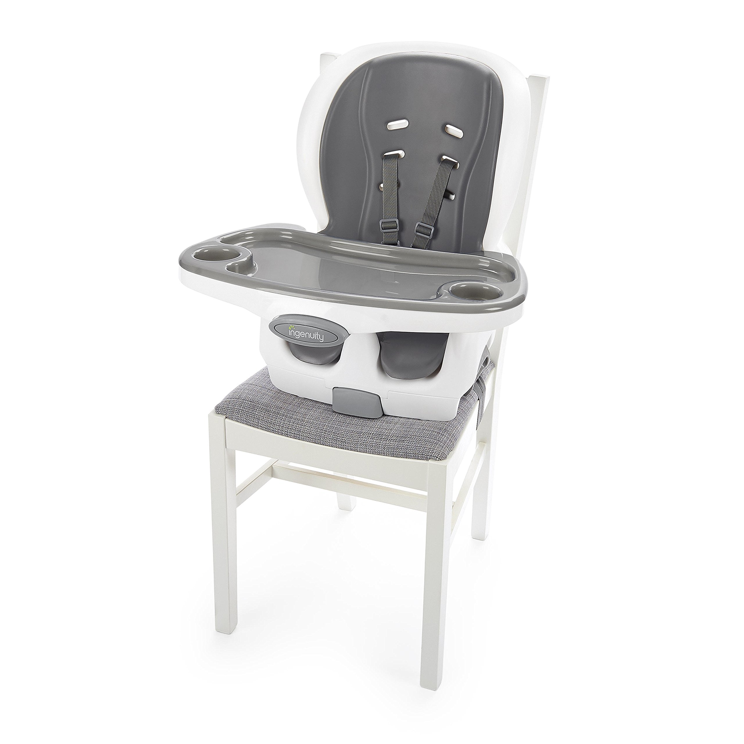 Ingenuity SmartClean Trio Elite 3-in-1 High Chair - Slate - High Chair, Toddler Chair, and Booster by Ingenuity (Image #4)