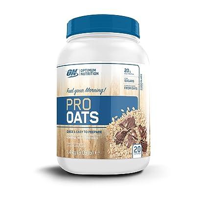 Optimum Nutrition Harina de Avena y Proteína Whey en Polvo de Sabor Chocolate - 1,