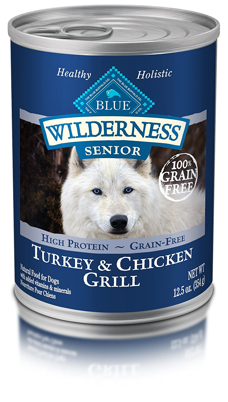 Blue Buffalo Wilderness High Protein Wet Senior Dog Food