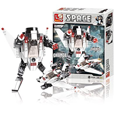 Sluban Space Robot Building Blocks Space 135 Piece [M38-B0336C]: Sluban: Toys & Games