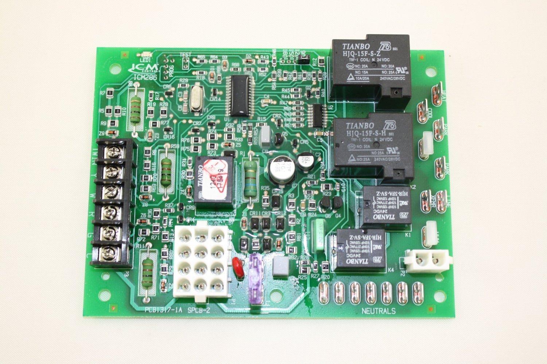Pcbbf123 Goodman Aftermarket Furnance Control Board Com Pth Circuit Used In Amana Industrial Scientific