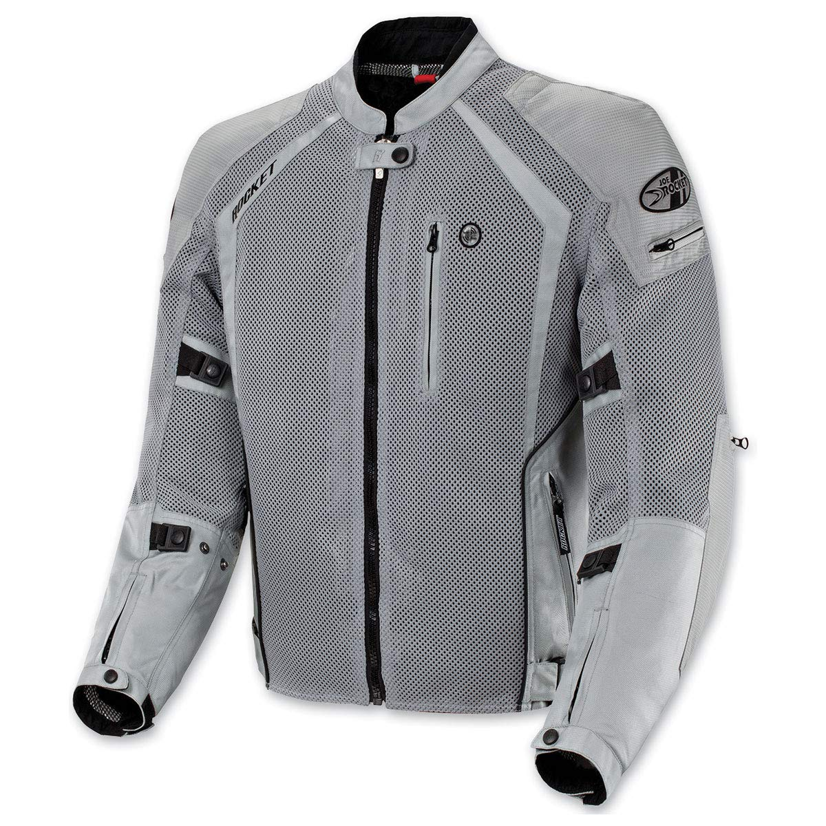 Black, XXX-Large Tall Joe Rocket Phoenix Ion Mens Mesh Motorcycle Jacket