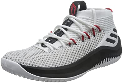 pretty nice fbb52 901ee Adidas Performance (Dame 4 ) Chaussures de basketball Homme, Multicolore  (Ftwbla  Negbas