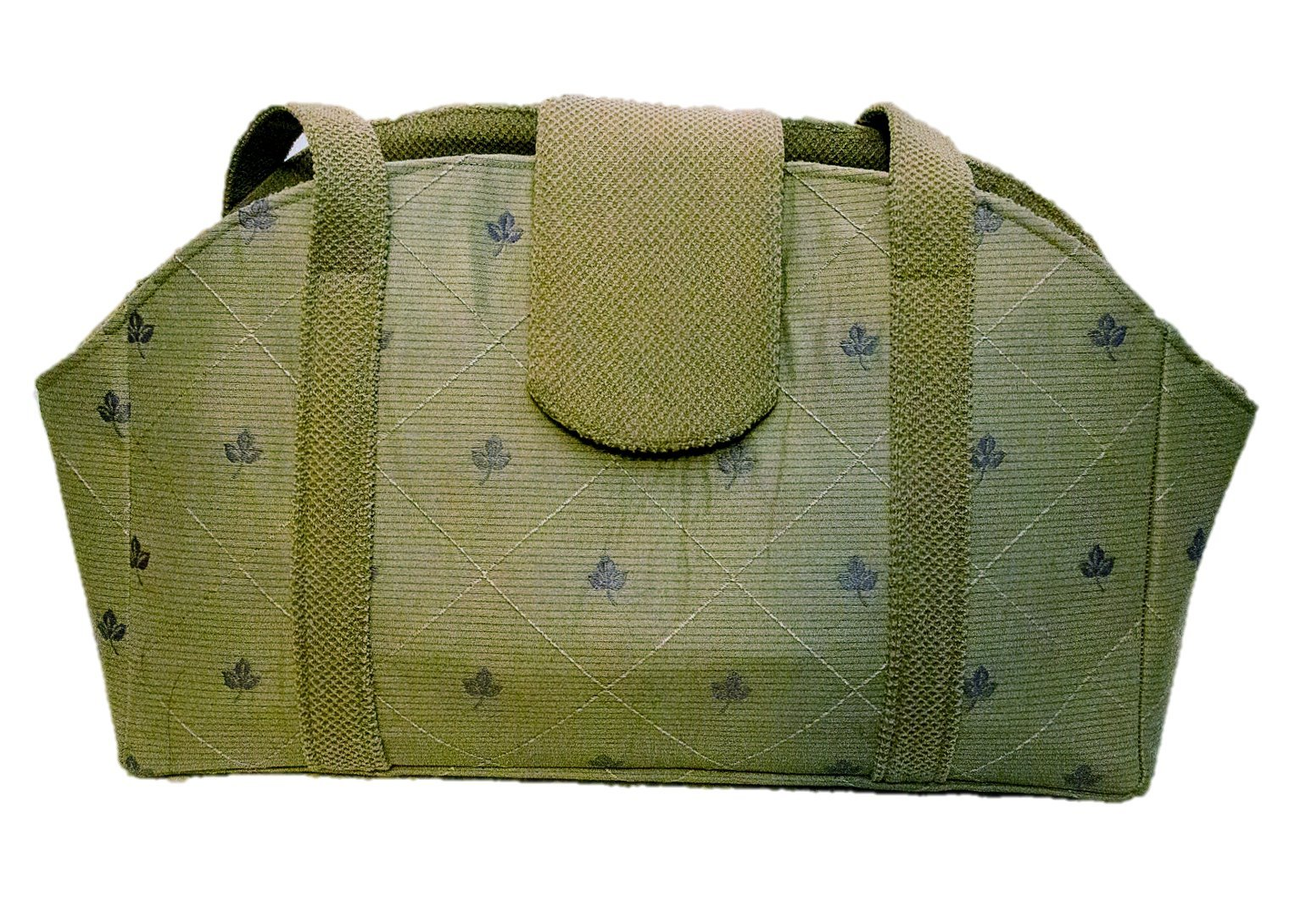 Fall Leaves and Pale Green Pet Purse Carrier