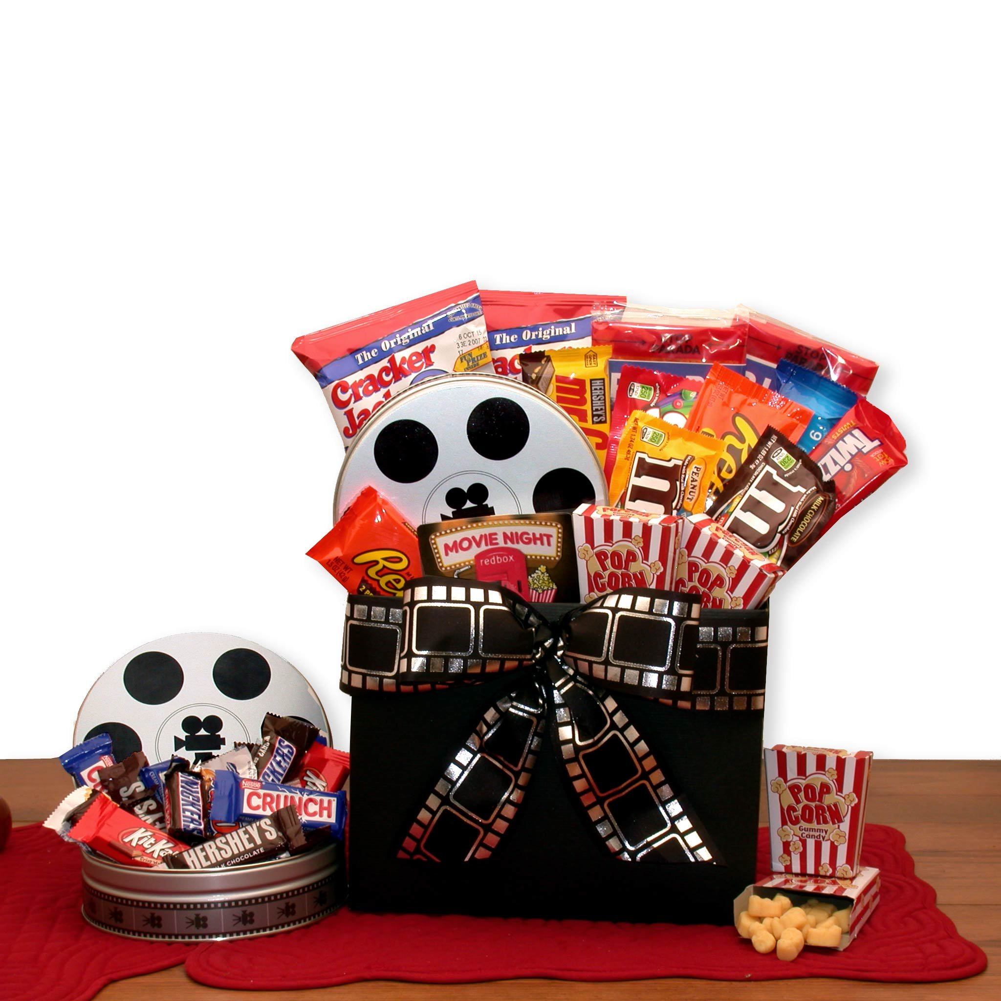 Fathers Day Movie Fest Gift Basket Box