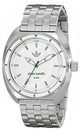 wholesale dealer 68d9c 9ccc2 adidas Men s ADH3007 Stan Smith Stainless Steel Watch with Link Bracelet