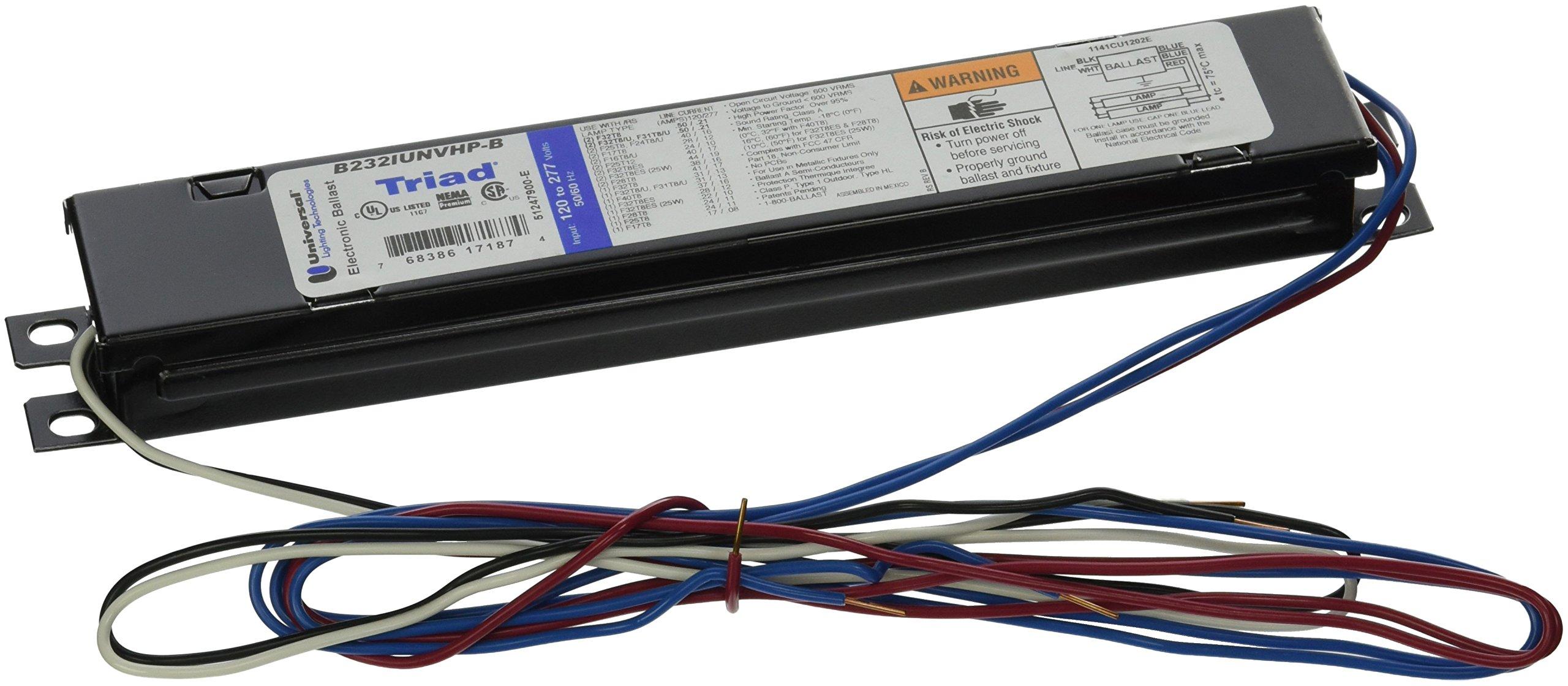 Universal Lighting Technologies B232IUNVHP-B Electronics Fluorescent Ballast