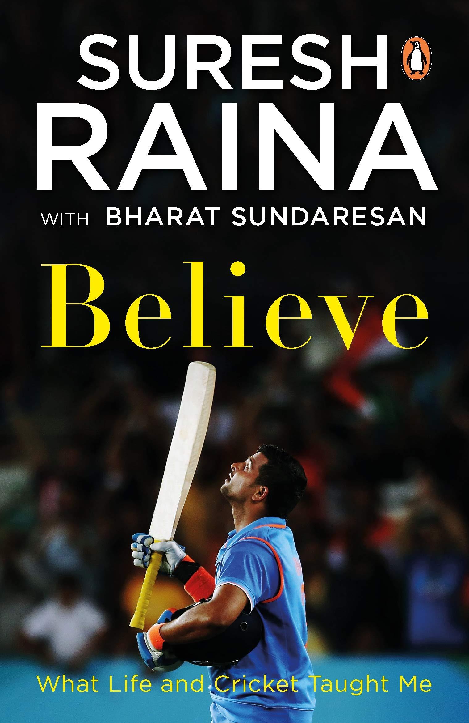 Cricketer Suresh Raina Released his Autobiography 'Believe'