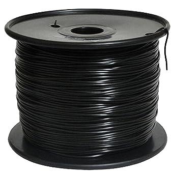 Win-tinten 3D Impresora de plástico PLA 1,75 mm 1 kg Bobina (Negro ...