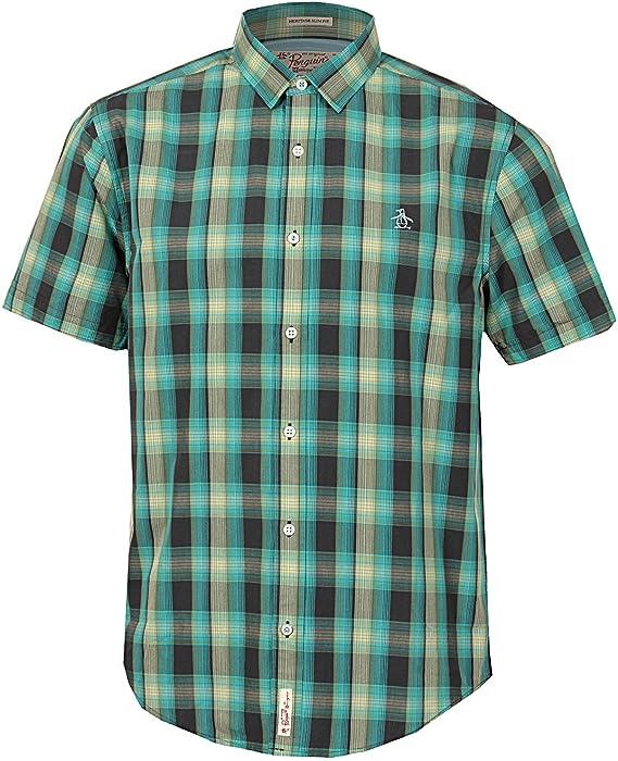 Original Penguin Camisa de Sport Hombre (Azul) 1ESW0368019: Amazon.es: Ropa y accesorios