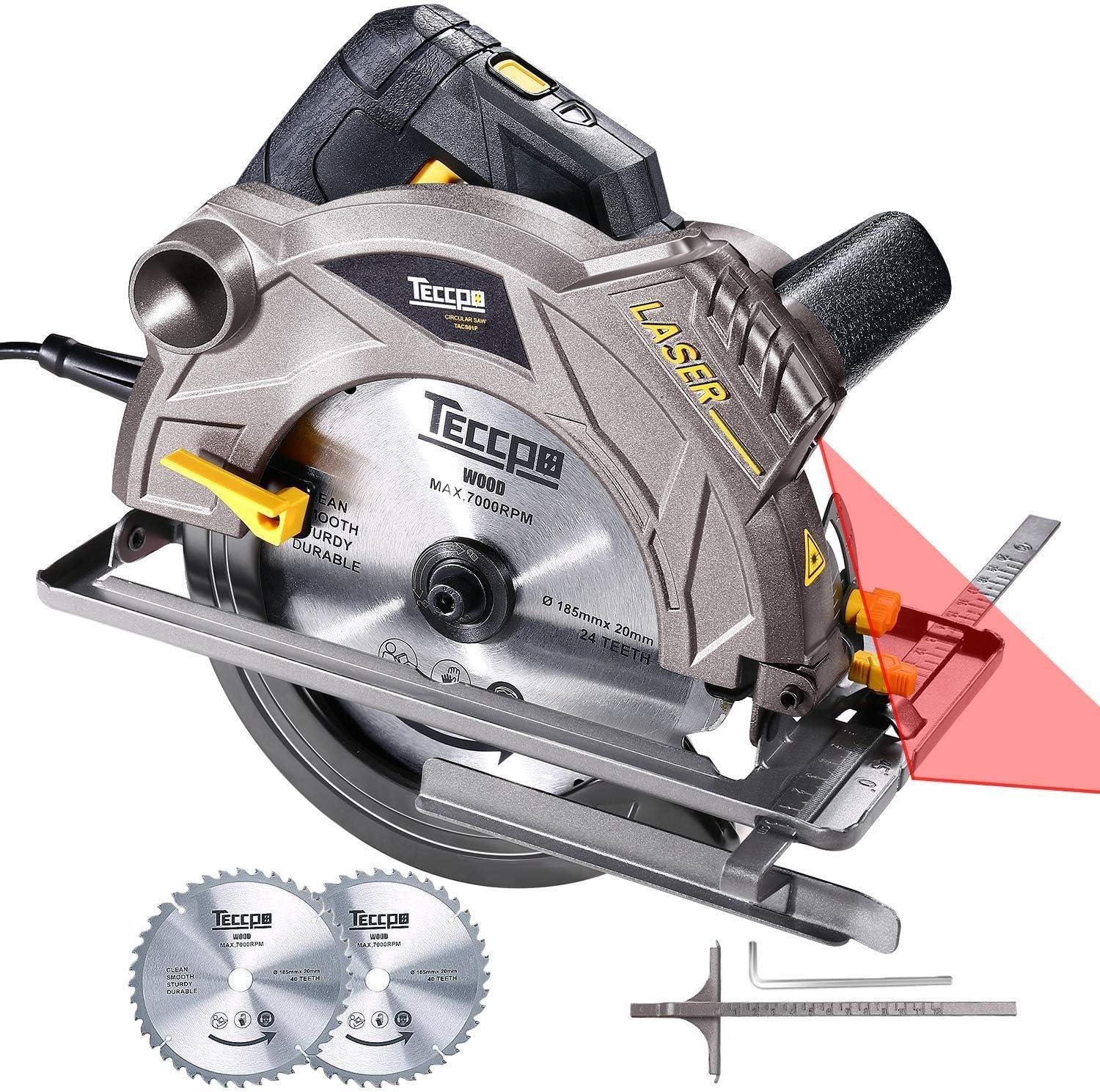 TECCPO TACS22P Professional Circular Saw