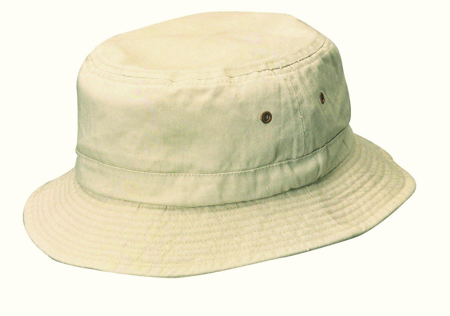959c394cb75 Galleon - Dorfman Pacific Cotton Packable Summer Travel Bucket Hat ...