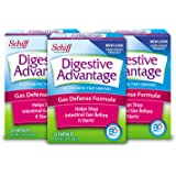 Digestive Advantage Gas Defense Formula Probiotic Capsules, 32 ct (Pack of 3)