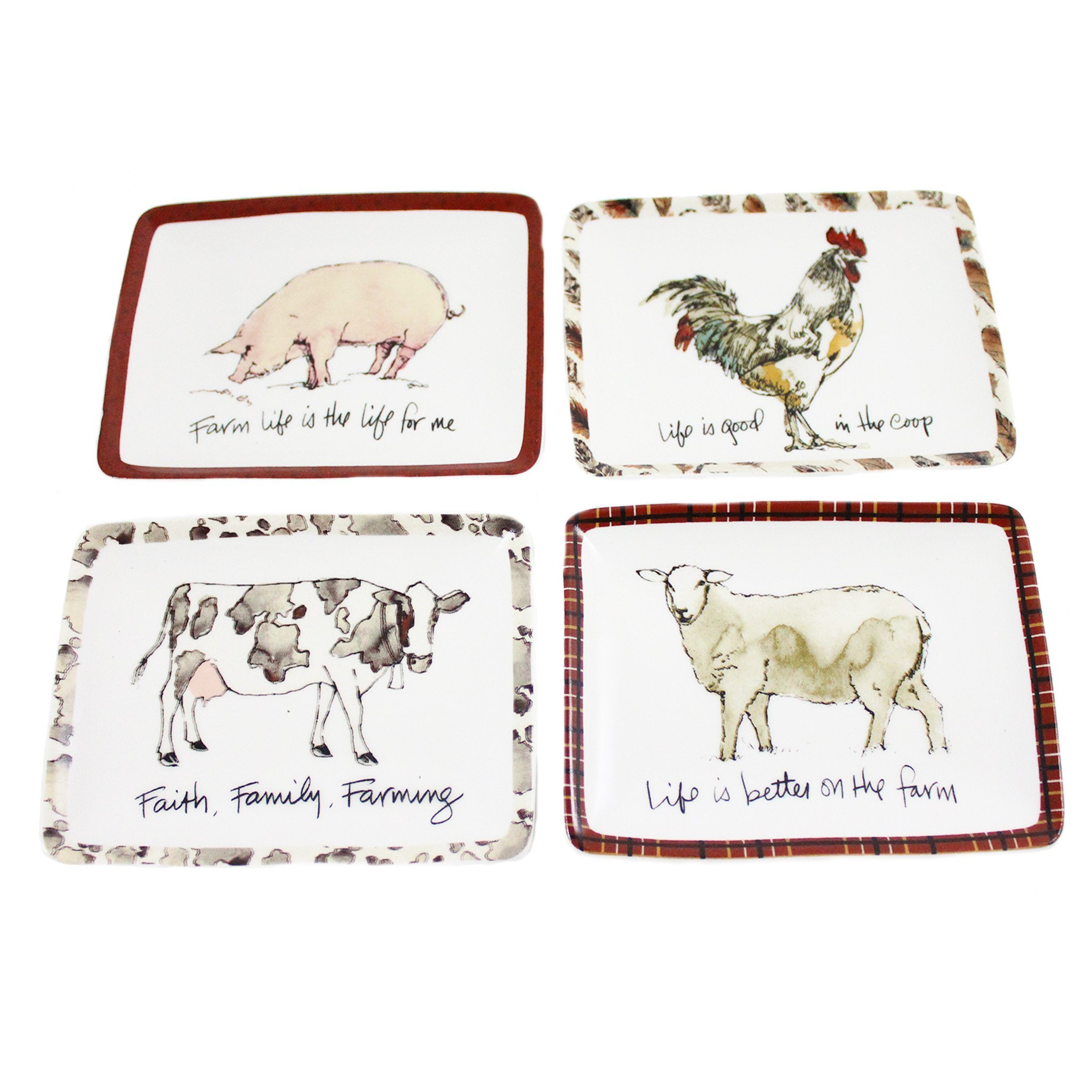 Farm Animal Candle Tray - Sheep by Candlestock