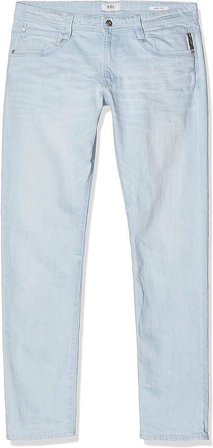 TALLA 33W / 32L. edc by ESPRIT 057CC2B001, Jeans Slim Fit para Hombre