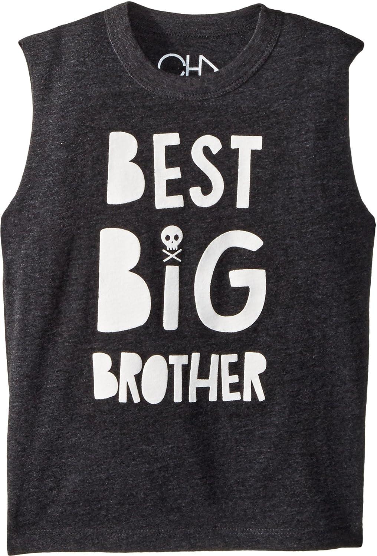 Chaser Kids Mens Extra Soft Big Brother Tank Top (Toddler/Little Kids)