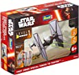 Revell Modellbausatz Star Wars First Order Special Forces TIE Fighter im Maßstab 1:51, Level 1, originalgetreue Nachbildung mit vielen Details, Build & Play mit Light&Sound, zum Bauen & Spielen, 06751