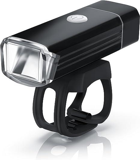 aplic - LED Faro para Bicicleta con la batería Recargable ...