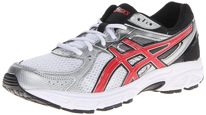 Asics Shoes Shop UK Asics Men's Gel Contend 2 4E Running Shoe T426N Size 8 White Red Black New
