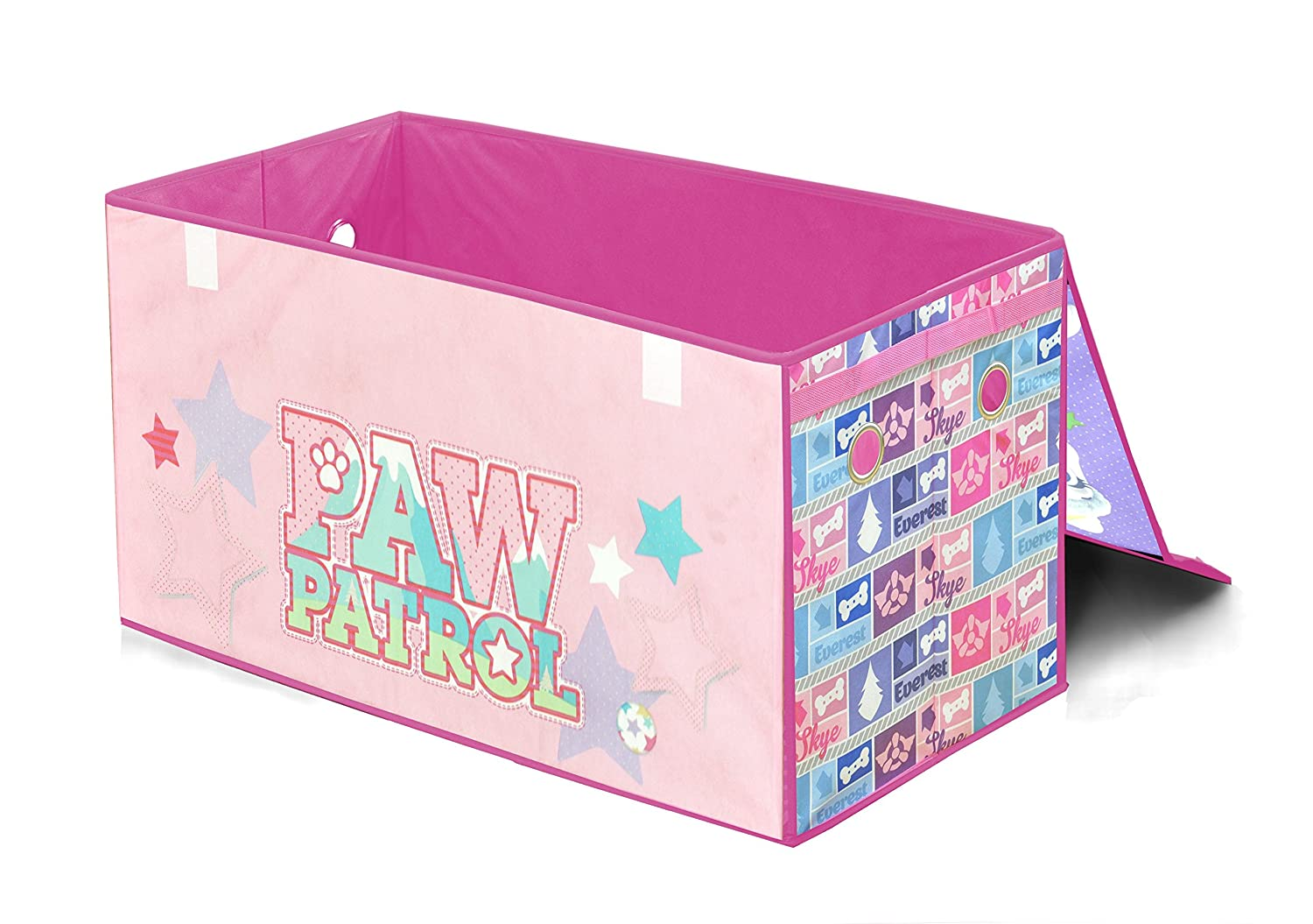 Amazon.com: Nickelodeon Paw Patrol Skye And Everest Collapsible Storage  Trunk: Toys U0026 Games