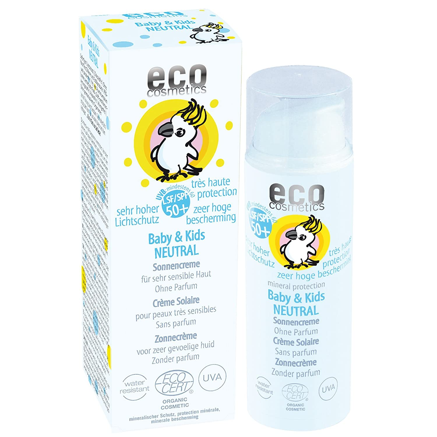 eco cosmetics Baby Sonnencreme LSF50+ neutral 50ml 73258