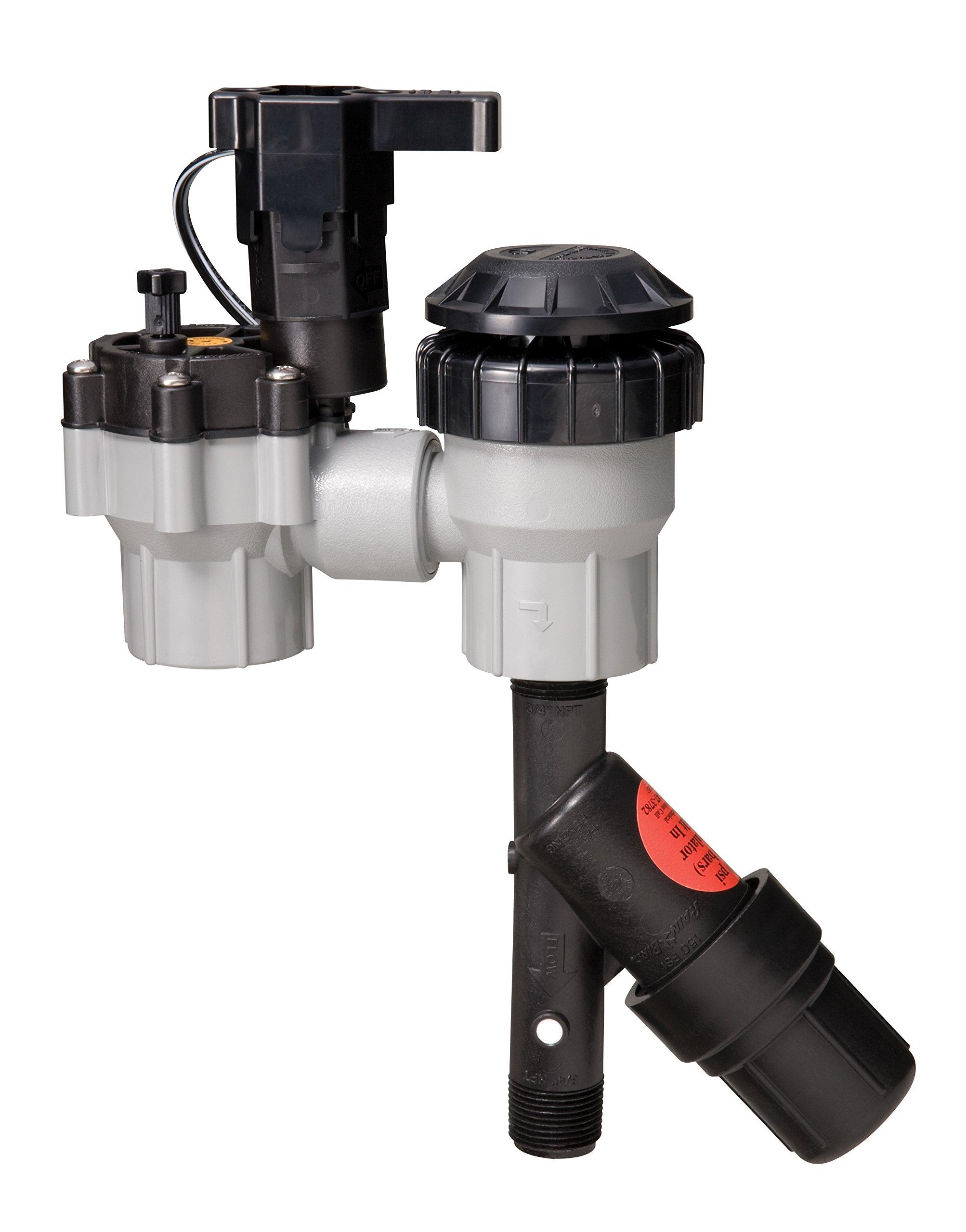 Rain Bird CPZ075FAS Drip Irrigation Anti-Siphon Control Valve Kit, 3/4'' Female x Female